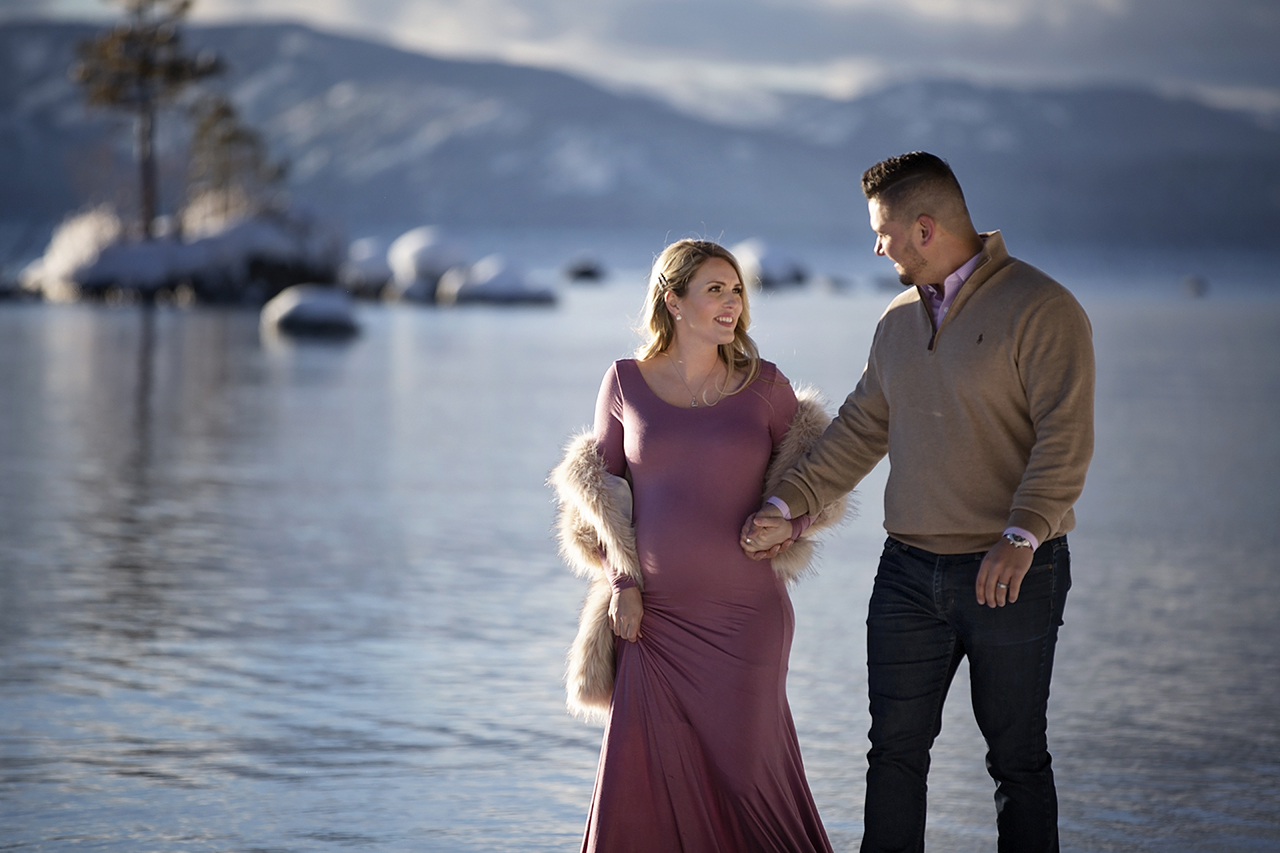 Zephyr cove lake tahoe maternity photos 12