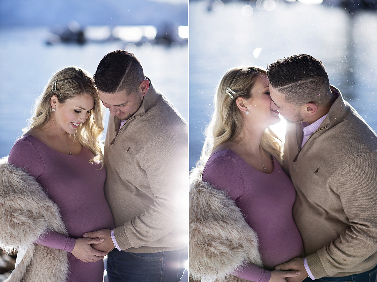 Zephyr cove lake tahoe maternity photos 16
