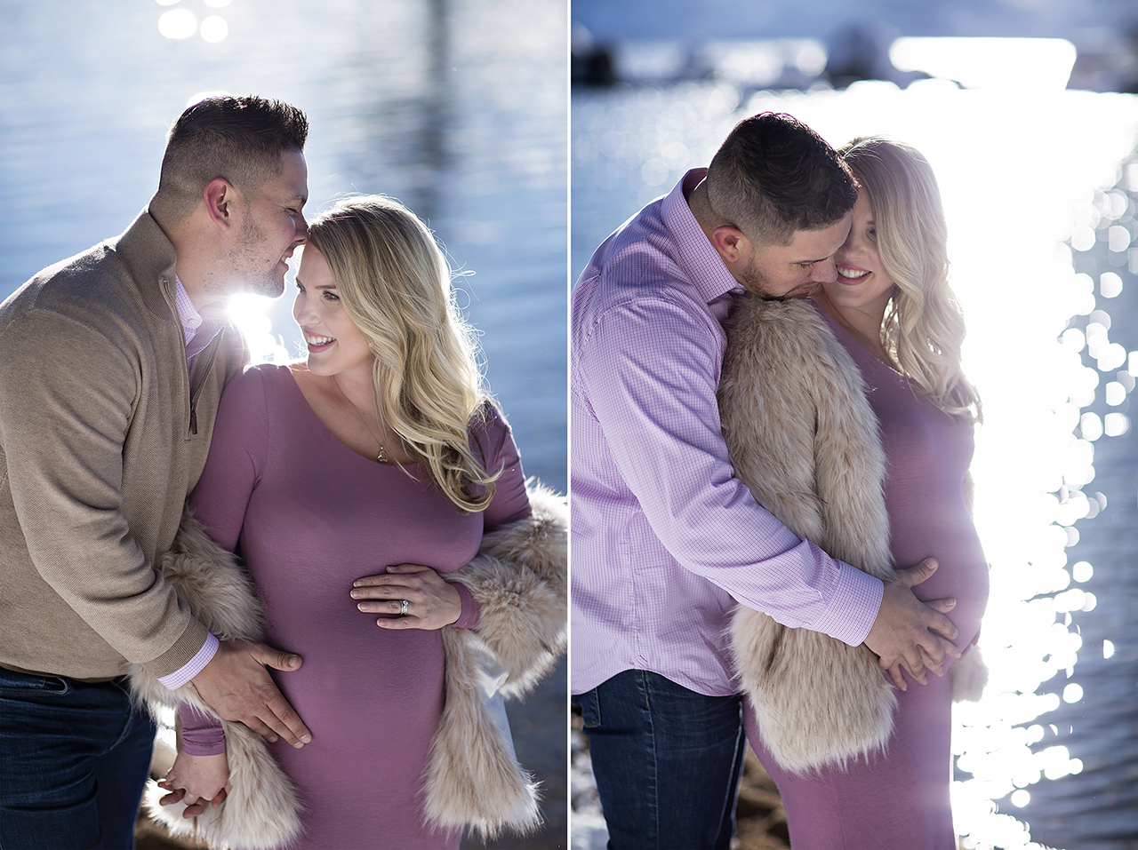 Zephyr cove lake tahoe maternity photos 17
