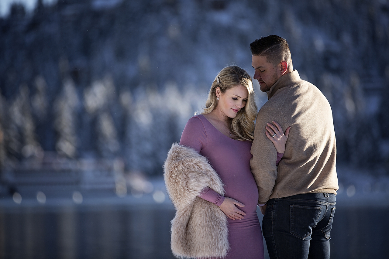 Zephyr cove lake tahoe maternity photos 19