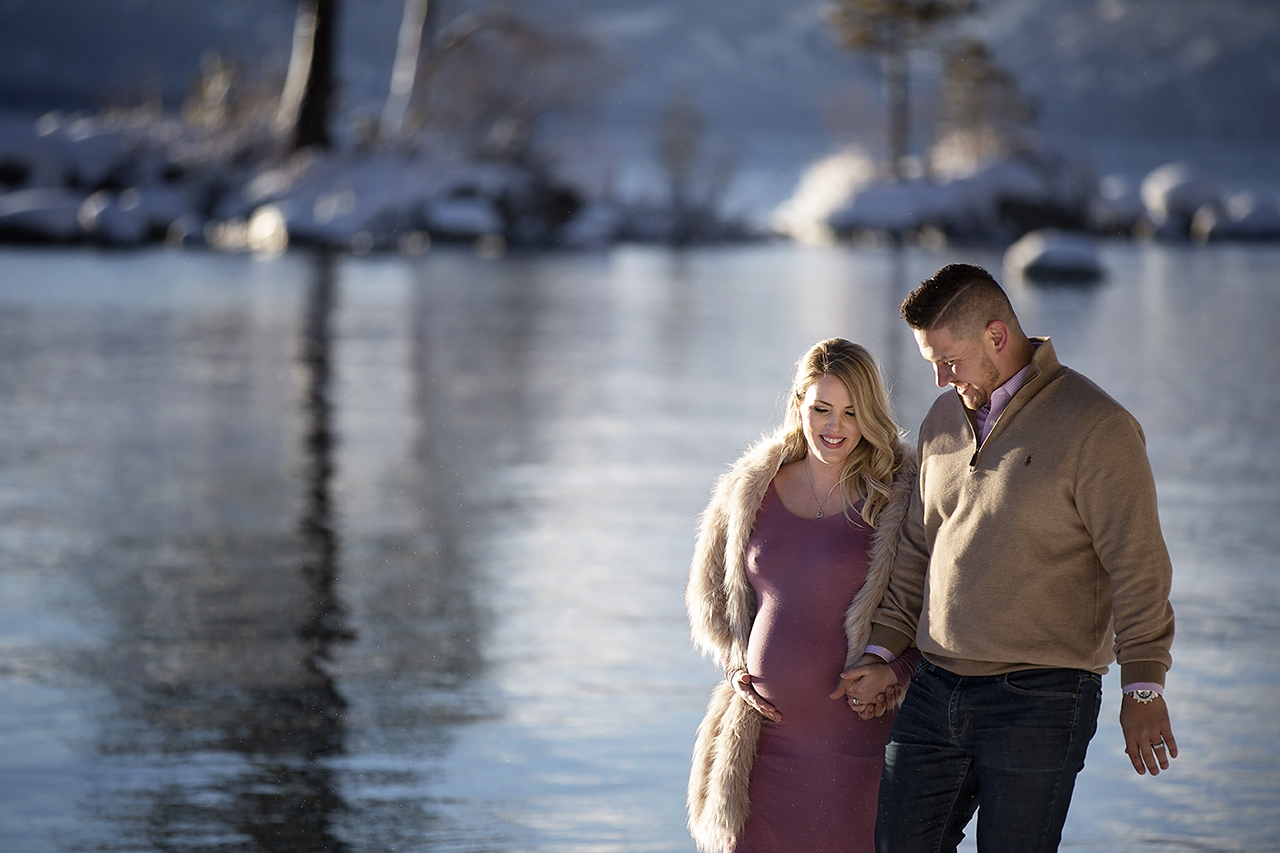 Zephyr cove lake tahoe maternity photos 22