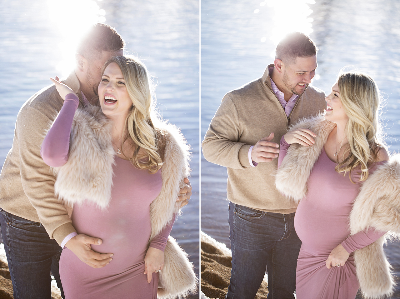 Zephyr cove lake tahoe maternity photos 3