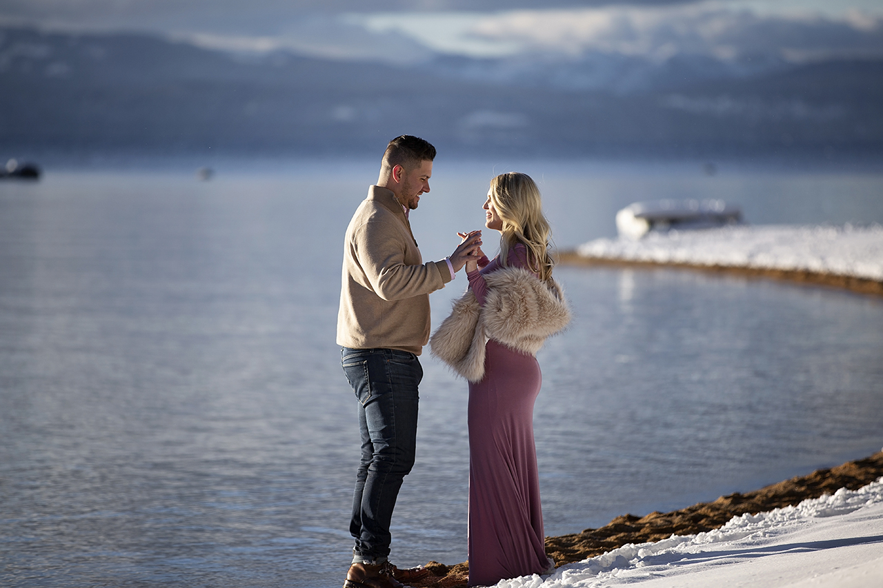 Zephyr cove lake tahoe maternity photos 34