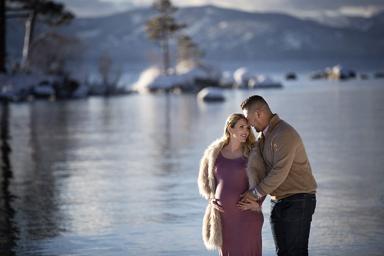 Zephyr cove lake tahoe maternity photos 36