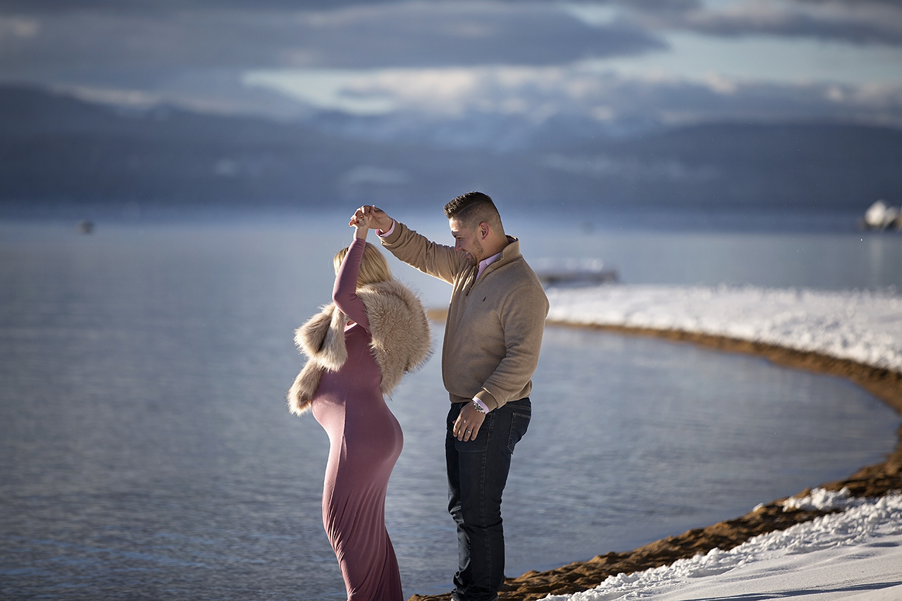 Zephyr cove lake tahoe maternity photos 6