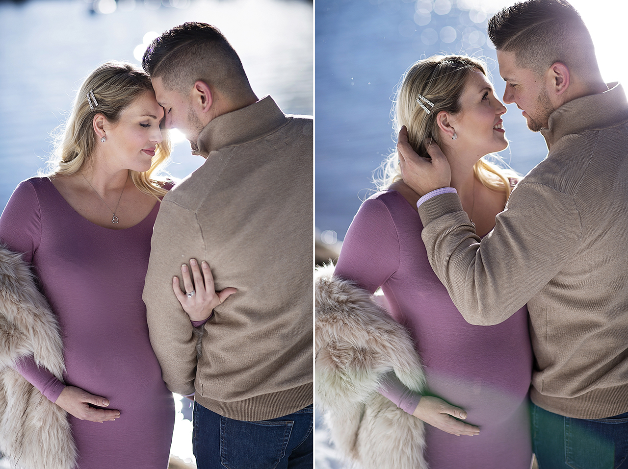 Zephyr cove lake tahoe maternity photos 9