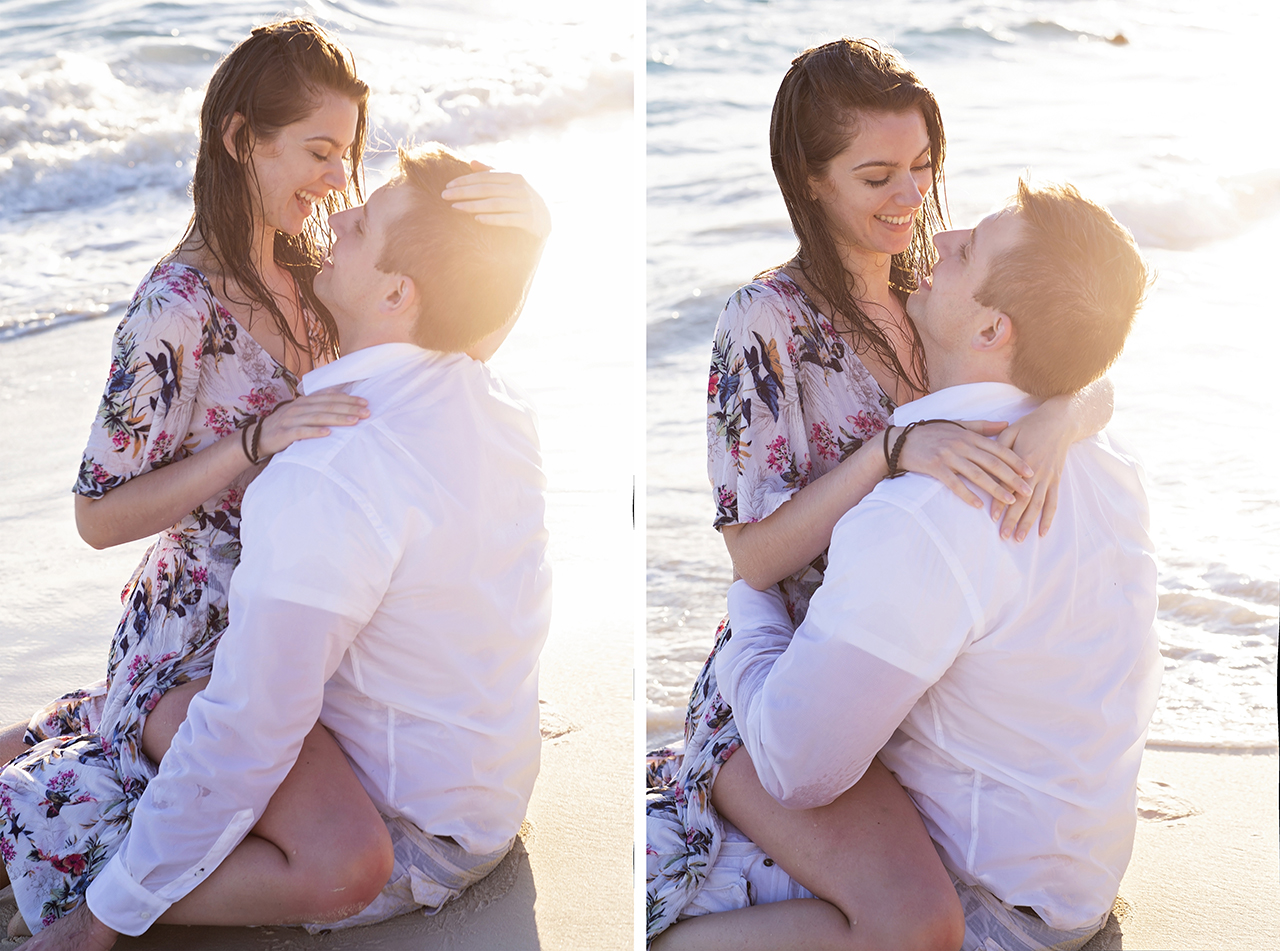punta cana wedding photographer photoshoot on a beach with bride and groom 28