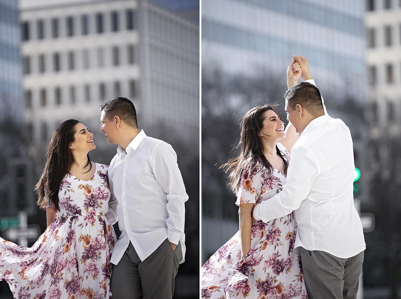 Engagement photo shoot in Sacramento 1
