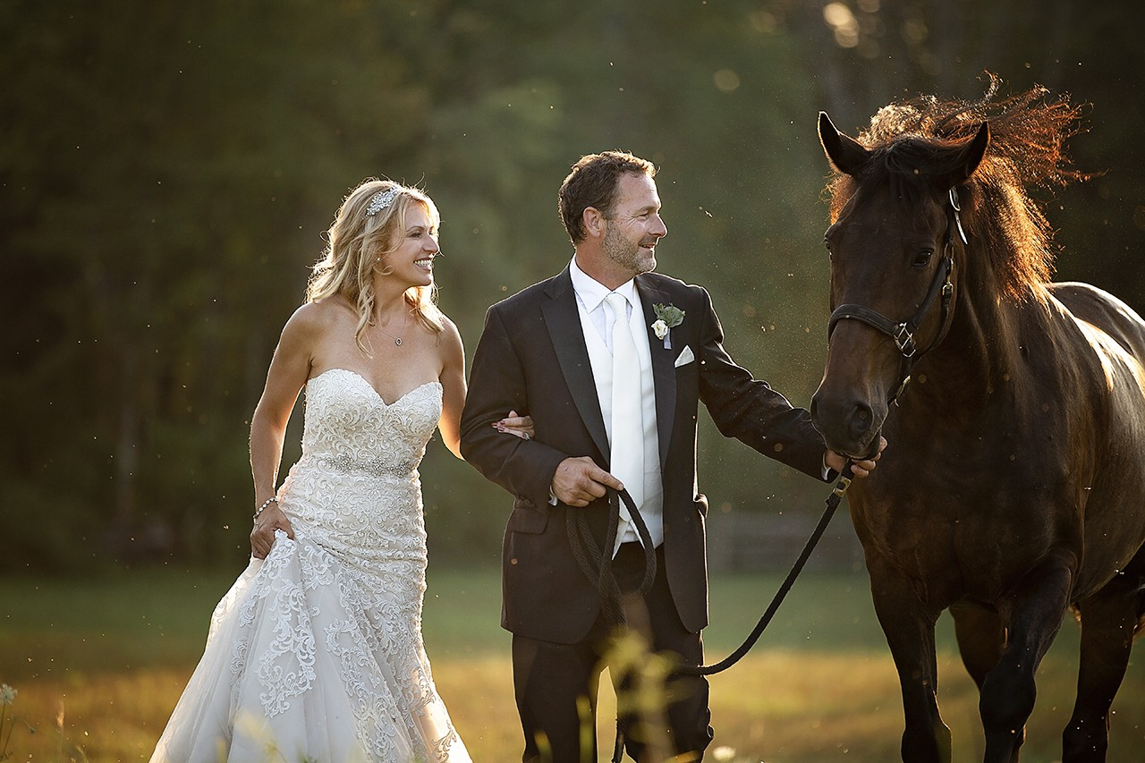 Beautiful wedding on a Farm