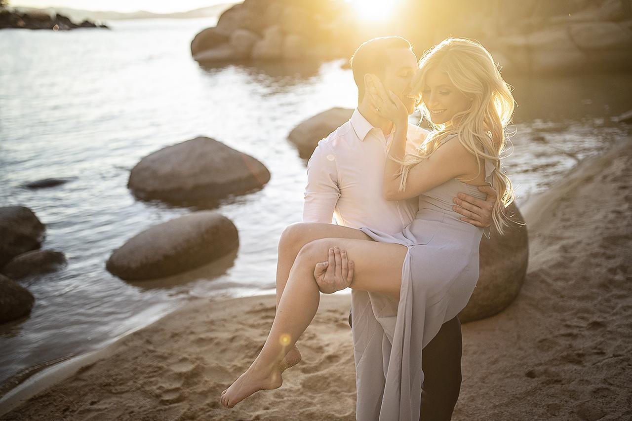 Engagement Photo Shoot in Lake Tahoe