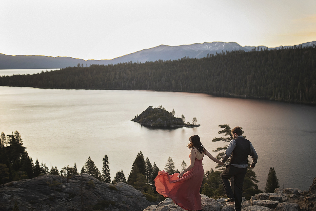 Engagement Photo-shoot Emerald Bay, Lake Tahoe